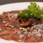Lunch Carpaccio Salade